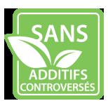 Sans additifs controversés